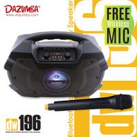 Dazumba DW196 Karaoke Speaker Bluetooth Portable + Mic Wireless