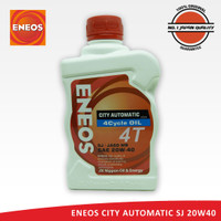 ENEOS CITY AUTOMATIC 4 CYCLE OIL SAE 20W40 SJ/JASO MB