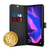 Case Huawei P30 Lite SPIGEN Wallet S Saffiano Original - Black