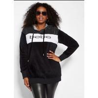 Bebe Hoodie Jaket Wanita Bigsize - Sweater Cewek Jumbo SIZE BRANDED