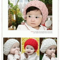 Topi anak nanas/pineaple hat/ topiRajut Motif Nanas Bayi