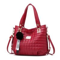 Tas Merah Import Casual Kerja Jinjing tote bag selempang handbag 87882