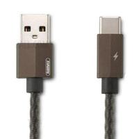 Remax Gefon Series Kabel USB Type C - RC-110a - Black