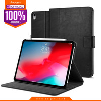 Case iPad Pro 11 Spigen Leather Stand Folio Casing iPad Pro 11