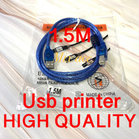 KABEL USB PRINTER 1.5M / 1.5METER/ 1.5 M KABEL PRINTER HIGH QUALITY