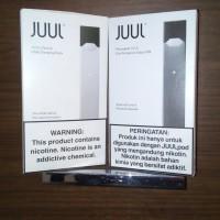 JUUL DEVICE BASIC AUTHENTIC POD VAPE ROKOK ELEKTRIK