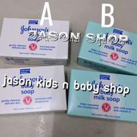 Sabun bayi Johnson's 100 gram/Johnson's baby milk soap 100 gram