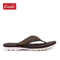 Sandal Jepit Pria Carvil 209 Brown Kasual Original