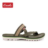 Sandal Pria Carvil 214 Brown Original
