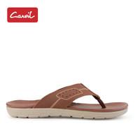 Sandal Jepit Pria Carvil 210 Brown Kasual Original