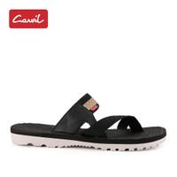 Sandal Pria Carvil 216 Kasual Black Original