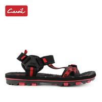 Sandal Gunung Pria Carvil 218 Black Red Original