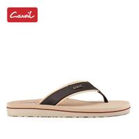 Sandal Jepit Pria Carvil 224 Cream Original