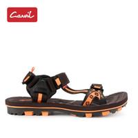 Sandal Gunung Pria Carvil 217 Brown Orange Original