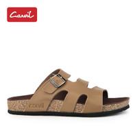 Sandal Carvil Pria 225 Brown Original