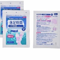 KYUSOKU JIKAN cooling gel pad - Koyo kaki dari Jepang 4 pcs (no box)