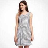 [clearance sale] Oldnavy Women Striped dress Cewek JUMBO SIZE original