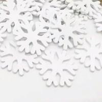Hiasan Kayu Snow Salju 3cm
