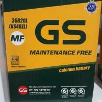 Aki mobil GS ASTRA Maintenance Free ns40ZL brio Bogor