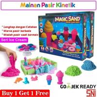 Mainan Pasir Ajaib Mainan Pasir Kinetik - Buy 1 Get 1 Free
