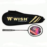 Raket Badminton Wish Fusiontec 999 Muscle + Senar - ORIGINAL