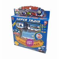 Mainan Anak Track Kereta Api Super Train Thomas 737010