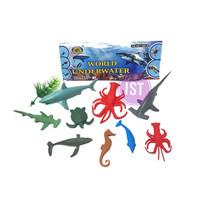 Mainan Anak Binatang Laut World Underwater 9 pcs 666F-9