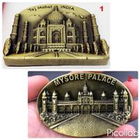 Souvenir Suvenir Fridge Magnet Tempelan Kulkas Negara India Taj Mahal