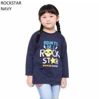 Baju Kaos Anak Cowok Cewek Lengan Panjang Rockstar Murah