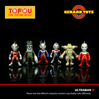 Action Figure Ultraman Chiby King Joe Series Set isi 6 MURAH BANGET