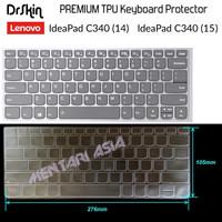 Keyboard Protector Lenovo Ideapad C340 - DrSkin PREMIUM TPU CLEAR
