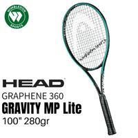 Raket Tenis Graphene 360 Head GRAVITY MP Lite / Head Gravity MP Lite
