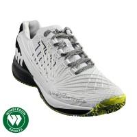 Sepatu Tenis Wilson Kaos 2.0 White/Black / Sepatu Wilson Kaos 2.0