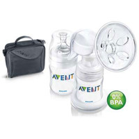 Breast Pump Avent Manual + Tas SCF 310/13 / Pompa ASI Manual