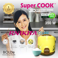 SUPER COOK BOLDe 3D 1,8 LITER MAESTRO SERIES - RICE COOKER 3 in 1