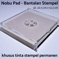 Bantalan Stempel Besar Nobu - 20.5cm x 14.5 cm