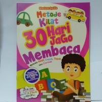 Buku Anak - Metode Kilat 30 Hari Jago Membaca Usia 3-5 tahun
