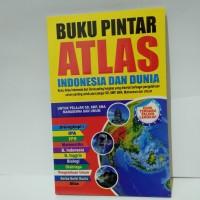 Buku Pintar Atlas Indonesia dan Dunia Paling Lengkap SD,SMP,SMA
