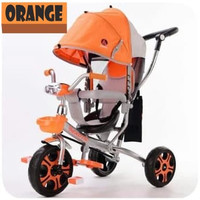 SEPEDA ANAK RODA 3 TRICYCLE KANOPI BABY STROLLER EXOTIC