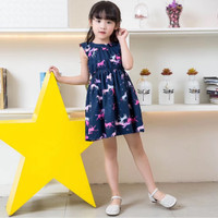 DRESS LUCU ANAK / DRESS ANAK MOTIF BUNGA / DRESS FULL UNICORN