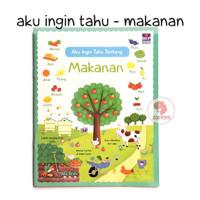 Zoetoys Aku Ingin Tahu - Makanan | Buku Edukasi Anak | edutoys