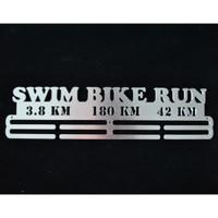 Jual Medal Hanger Swim Bike Run 3 8km Kota Tangerang Selatan Run2tristore Tokopedia