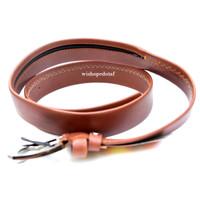 Ziper Belt Leaher brown
