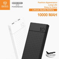 Power Bank 10000 mAh Dual Usb / powerbank 2.4A zagbox