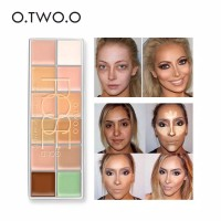 O.TWO.O /OTWOO 12 COLOR CONCEALER CREAM /12 CAMOUFLAGE CREAM PALLETA