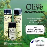 OLIVE PAKET PERAWATAN RAMBUT LENGKAP / OLIVE HAIR TREATMENT SET BPOM