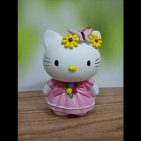 HIASAN/PAJANGAN/MAINAN HELLO KITTY (PMHKKUPU) FIBER HELLO KITTY PINK