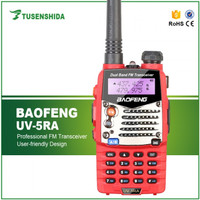Radio Walkie Handy Talky HT BAOFENG POFUNG Dual Band 5W UV-5RA - Red