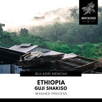 KOPI BIJI ARABIkA ETHIOPIA GUJI SHAKISO WASHED - BIJI KOPI MENTAH