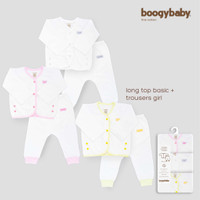 Boogybaby Basic Cotton - Long Top + Trousers GIRL